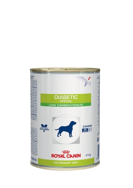 Royal Canin Diabetic Special Low Carbohydrate Canine / Ветеринарный влажный корм (Консервы) Роял Канин Диабетик для собак Сахарный диабет (Цена за упаковку)