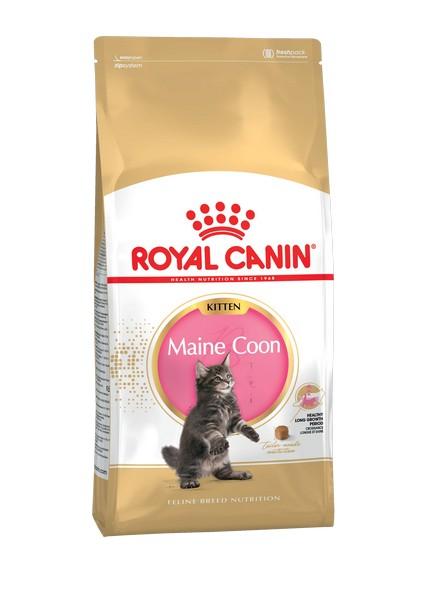 Royal Canin Kitten Maine Coon / Сухой корм Роял Канин для Котят породы Мэйн Кун в возрасте до 15 месяцев