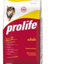 Prolife Adult Chicken & Rice / Сухой корм для взрослых кошек Курица рис