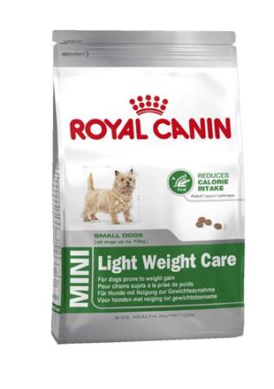 Заказать Royal Canin Mini Light Weight Care / Сухой корм Роял Канин Мини Лайт для собак Мелких пород Низкокалорийный по цене 590 руб