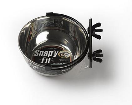 Заказать MidWest Snapy Fit Stainless Steel / Миска для клеток и вольеров Нержавеющая сталь по цене 470 руб