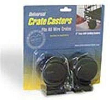 MidWest Universal Crate Caster / Колеса Мидвест для клеток Универсальные