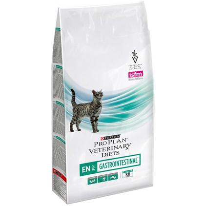 Заказать Purina Pro Plan Veterinary Diets EN Gastrointestinal / Лечебный корм Пурина Про План Ветеринарная Диета для кошек Гастроинтестинал Заболевание ЖКТ (нарушение пищеварения) по цене 400 руб