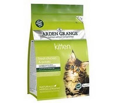 Заказать Arden Grange Kitten Fresh Chicken & Potato Grain Free / Сухой корм Беззерновой для Котят Курица и Картофель по цене 340 руб