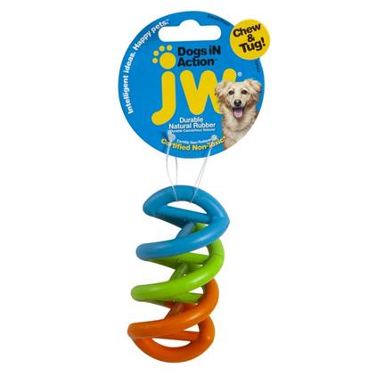 Заказать JW in Action / Игрушка для собак Спиралька каучук по цене 330 руб