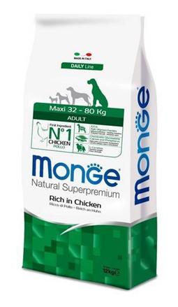 Заказать Monge Dog Maxi / корм для взрослых собак крупных пород по цене 1150 руб