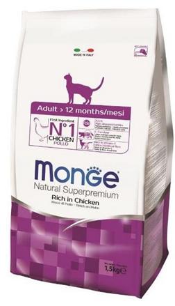 Заказать Monge Cat / корм для взрослых кошек по цене 260 руб