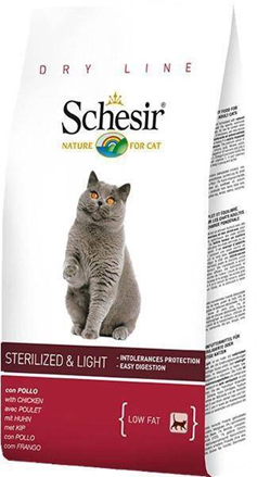 Заказать Schesir / Сухой корм для Стерилизованных Кошек и с Избыточным весом по цене 840 руб