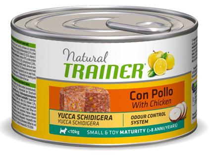 Заказать Trainer Natural Small & Toy Maturity / Консервы для Пожилых собак Мелких и Миниатюрных пород Цена за упаковку по цене 3320 руб
