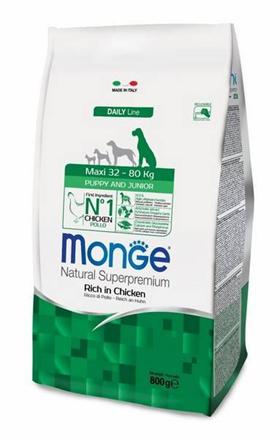 Заказать Monge Dog Maxi / корм для щенков крупных пород по цене 410 руб