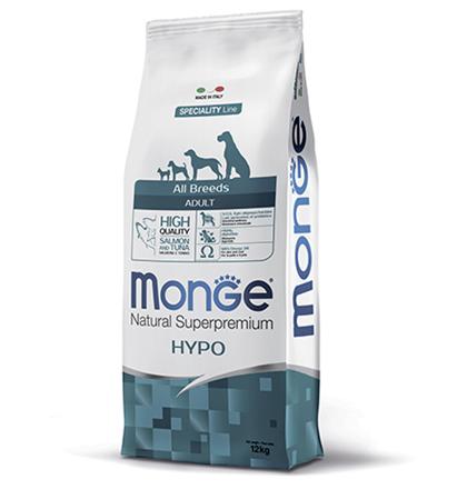 Monge Dog Speciality Hypoallergenic Salmon & Tuna / Сухой корм Монж Спешиалити для собак всех пород Гипоаллергенный Лосось с тунцом