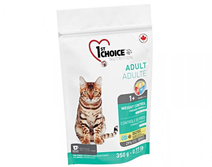 1st Choice Weight Control / сухой корм Контроль Веса для Кастрированных котов и Стерилизованных кошек