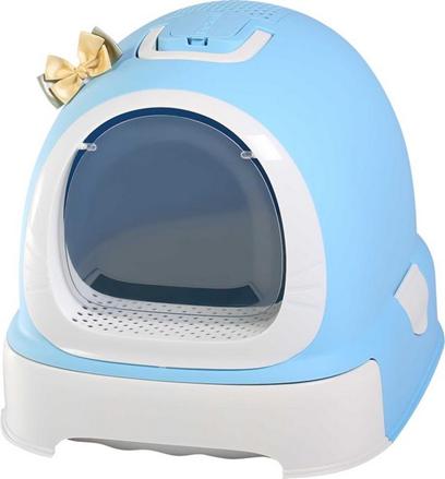 Заказать Makar Fantasy / Туалет-бокс для кошек с выдвижным поддоном 55х42х43 см по цене 2960 руб