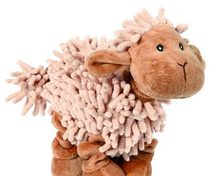 """Заказать Trixie / Игрушка для собак """"Овца"""" с пищалкой плюш по цене 720 руб"""