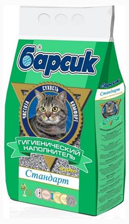 """Заказать Барсик Наполнитель для кошачьего туалета """"Стандарт"""" по цене 90 руб"""