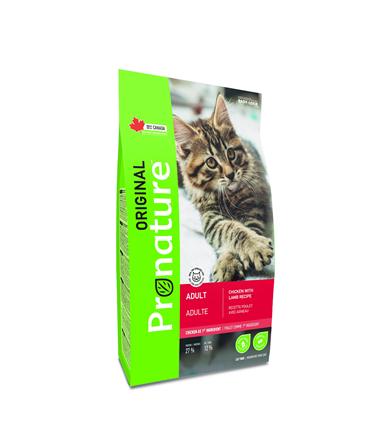 Заказать ProNature Original / Сухой Корм для кошек Курица Ягненок по цене 960 руб