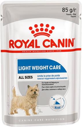 Заказать Royal Canin Light Weight Care / Влажный корм (паштет) для собак всех размеров Низкокалорийный (профилактика избыточного веса) Цена за упаковку по цене 730 руб