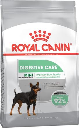 Заказать Royal Canin Mini Sensible Digestive Care / Сухой корм Роял Канин Мини Сенсибл для собак Мелких пород с Чувствительным пищеварением по цене 400 руб