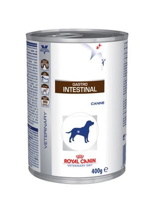 Заказать Royal Canin Gastro Intestinal Canine / Ветеринарный влажный корм (Консервы) Роял Канин Гастро Интестинал для собак при нарушении Пищеварения (Цена за упаковку) по цене 1390 руб