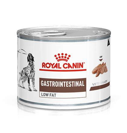 Заказать Royal Canin Gastro Intestinal Low Fat Canine / Ветеринарный влажный корм (Консервы) Роял Канин Гастро Интестинал Лоу Фэт для собак при нарушении Пищеварения Низкокалорийный (Цена за упаковку) по цене 1460 руб