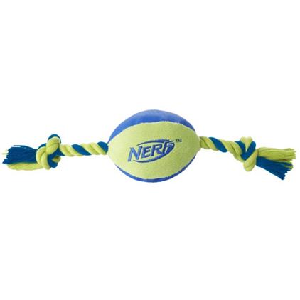 Заказать Nerf Dog / Мяч Плюшевый с веревками по цене 670 руб