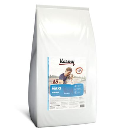 Заказать Karmy Junior Maxi / Сухой корм для Щенков Крупных пород до 1 года Телятина по цене 3600 руб