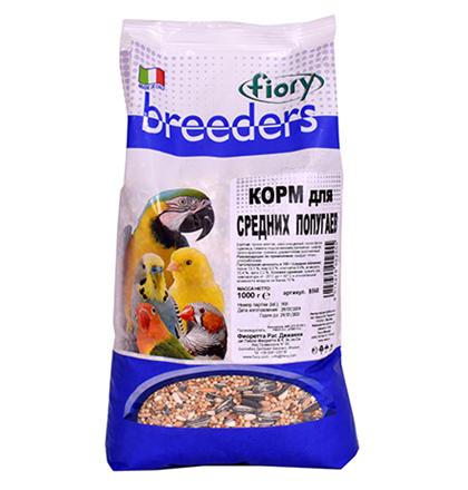 Заказать Fiory Breeders / Корм для Средних попугаев по цене 230 руб
