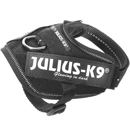 JULIUS-K9 IDC®-Powerharness / Шлейка для собак Черный