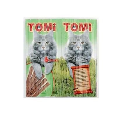 TOMi Delicious Sticks Turkey & Mutton / Лакомство Томи для кошек палочки с Индюшатиной и молодой Бараниной
