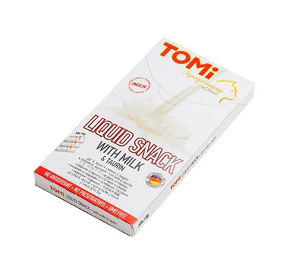 TOMi Liquid Snack Milk & Taurin / Лакомство Томи для кошек Молоко Таурин