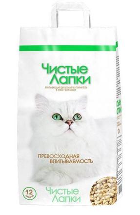 Заказать Чистые лапки (Clean Paws) Наполнитель для кошачьего туалета Древесный по цене 190 руб