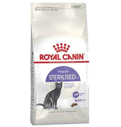 Royal Canin Sterilised / Сухой корм Роял Канин Стерилайзд для взрослых Кастрированных котов и Стерилизованных кошек в возрасте от 1 года до 7 лет