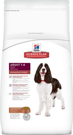 Заказать Hills Science Plan Adult Lamb & Rice / Сухой корм для взрослых собак с Ягненком и рисом по цене 1430 руб