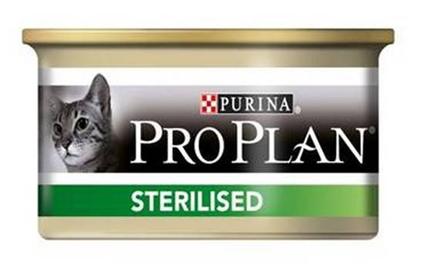 Заказать Purina Pro Plan Sterilised Tuna & Salmon / Консервы Пурина Про План для Стерилизованных кошек Тунец и Лосось (цена за упаковку) по цене 1280 руб