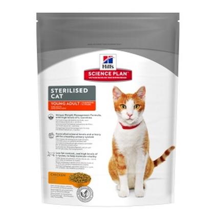Заказать Hills Science Plan Adult Sterilised / Сухой корм для Кастрированных котов и Стерилизованных кошек по цене 200 руб