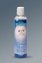 Bio-Groom Purrfect White Shampoo / шампунь для кошек, повышает яркость окраса 237 мл