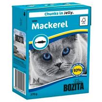 Bozita Feline / Консервы Бозита для кошек кусочки в желе Скумбрия (цена за упаковку)