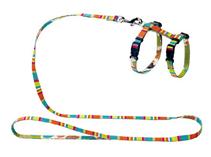 Hunter Smart Stripes / шлейка для кошек и собак нейлон