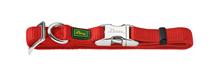 Hunter Alu-Strong / ошейник для собак нейлон с металлической застежкой размер M (40-55 см)