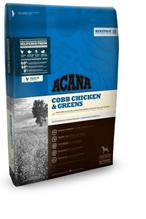Заказать Acana Heritage 60 / 40 Cobb Chicken & Greens Сухой корм  для собак Цыпленок с Зеленью по цене 293 руб
