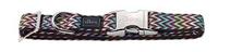 Заказать Hunter Alu-Strong Zigzag / ошейник для собак нейлон с металлической застежкой Зигзаг по цене 820 руб