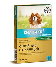 Bayer Килтикс / Ошейник от Клещей для собак Мелких пород