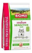 Заказать BioMill Swiss Professional Medium Sensitive Lamb & Rice / Сухой корм для собак Средних пород Чувствительное пищеварение Ягненок с Рисом по цене 1600 руб