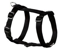 Hunter Smart Ecco Sport / шлейка для собак нейлон Черная