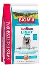 Заказать BioMill Swiss Professional Medium Light / Сухой корм для собак Средних пород Низкокалорийный Курица по цене 1060 руб