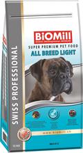 Заказать BioMill Swiss Professional All Breed Light / Сухой корм для собак всех пород Низкокалорийный Кролик по цене 4230 руб