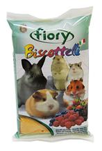 Fiory Biscottelli / Бисквиты Фиори для грызунов с Ягодами