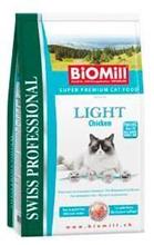 Заказать BioMill Swiss Professional Light / Сухой корм для кошек Низкокалорийный по цене 1050 руб
