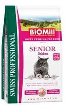 Заказать BioMill Swiss Professional Senior / Сухой корм для Пожилых кошек по цене 1050 руб