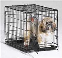 MidWest iCrate Dog Crate / Клетка Мидвест 1 дверь Черная